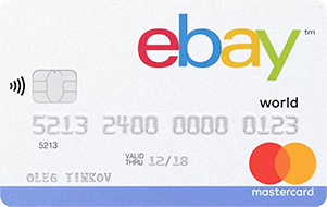 Карта eBay от Тинькофф Банка
